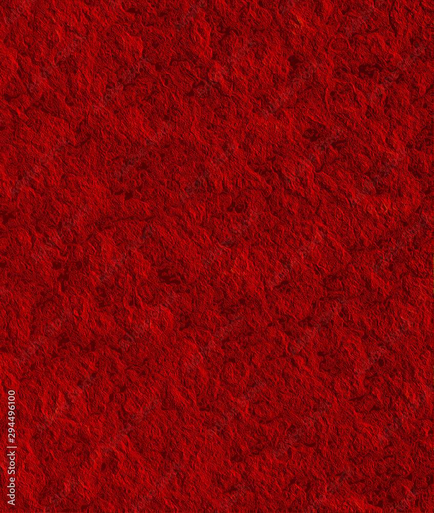 Fototapety, obrazy: Highly Textured Vibrant Red Background