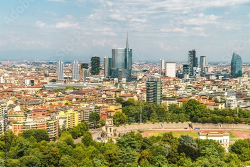 City of Milan Italy