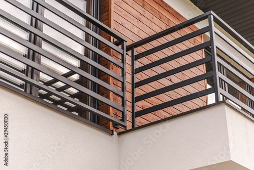 Canvas Modern Residential Balcony