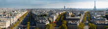 Cityscape Of Paris With The Ei...