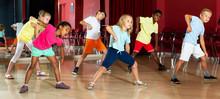 Children Studying Modern Style Dance