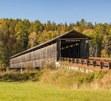 Awesome Covered Bridge In New Hampshire