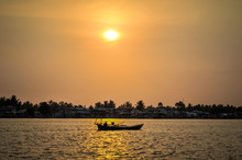 Sunset In Kampot Province, Cambodia