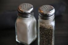 A Set Of Salt And Pepper Shake...