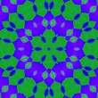 canvas print picture - Abstract square shape background. Kaleidoscope design. Template for your project