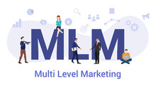 Mlm Multi Level Marketing Conc...