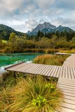 Emerald Waters In Alpine Lake ...