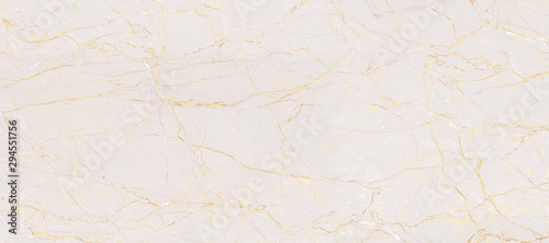 Spoed Fotobehang Stenen Natural Marble Stone Texture Background, Light Pink Colored Marble With Golden Curly Veins, It Can Be Used For Interior-Exterior Home Decoration and Ceramic Tile Surface, Wallpaper.
