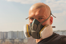 Male In Gas Mask
