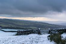 Addingham Moor In The Snow. Yo...