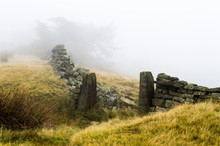 Ilkley Moor In The Autumn Fog