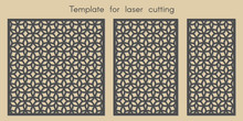 Template For Laser Cutting. St...