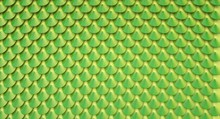 Artificial Glossy Fish / Snake Scale Pattern Texture - Illustration 3d Rendering