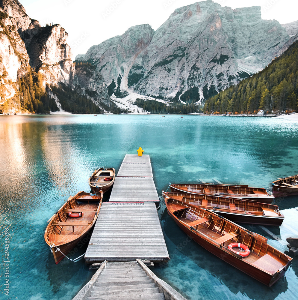 Fototapety, obrazy: Natur pur am Bergsee