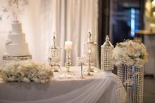 Wedding Cake And Wedding Table...