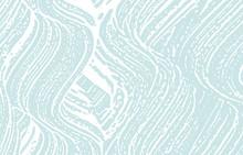 Grunge Texture. Distress Blue Rough Trace. Delicat