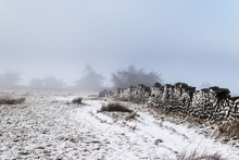 Ilkley Moor In Snow. Yorkshire
