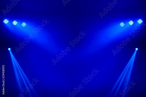 light for background , Stage lights Canvas Print