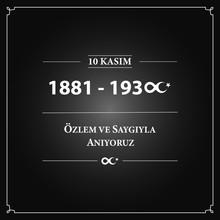 "10 Kasim. Translation: "" November 10 Death Day Anniversary Mustafa Kemal Ataturk, First President Of Turkish Republic. Memorial Day Of Ataturk In Turkey. Respect And Longing, Vector Illustration. """