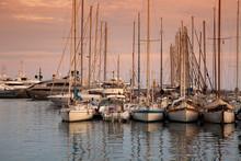 Marina Of Cannes, Cote D Azur, Provence-Alpes-Cote D'Azur, France, Europe