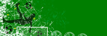 Grunge Soccer O. Football Desi...