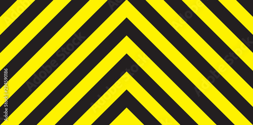 Black And Yellow Chevron Background Wallpaper Mural
