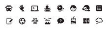 School, Education, And Learning Icon Set (vector Icons)