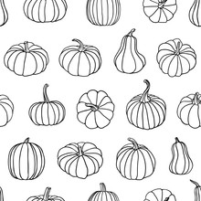 Seamless Pattern Of Linear Pum...
