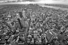 New York City View BW