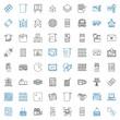 square icons set