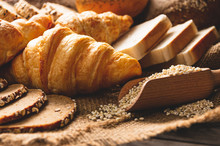 Different Kinds Of Bread With ...