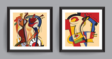 Music Abstract Art. Abstract P...