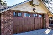 Custom Wood Overlay Garage Doo...