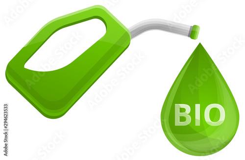 Photo Biofuel concept cartoon