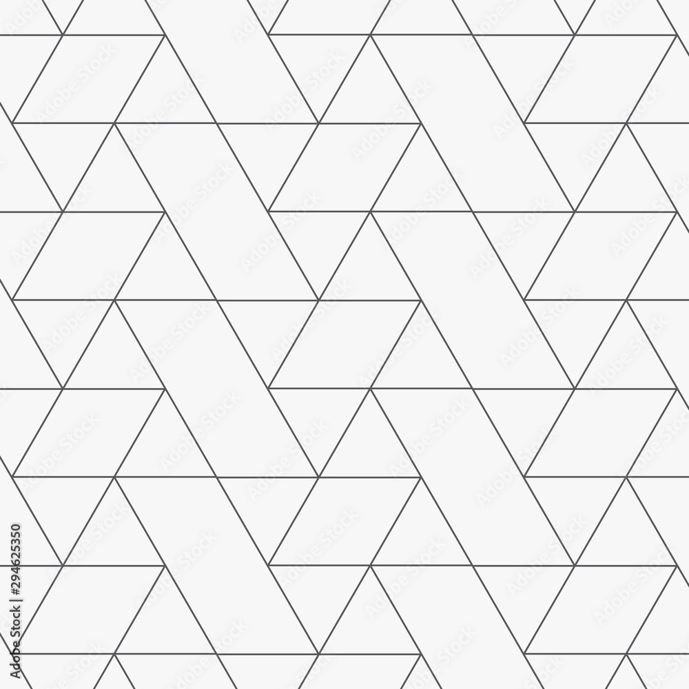 Fototapeta Linear vector pattern, repeating geometric linear background. Pattern is clean for design, fabric, wallpaper, printing. Pattern is on swatches panel.
