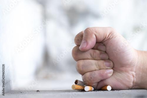 smoking reduction campaign Wallpaper Mural