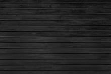 Black Wooden Planks Background
