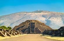Pyramid Of The Moon At Teotihu...