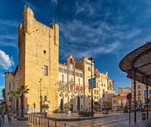 Historic Old Town Of Narbonne ...