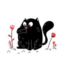 Cute Cat Figures