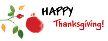 Happy Thanksgiving Facebook Cover For Web Page, Site Banner.