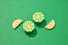 Handcraft Lemon Slices And Lim...