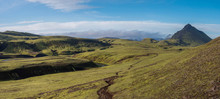 Panoramic Volcanic Landscape O...