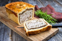 Traditional French Pate En Cro...