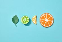 Set Of Lime, Lemon And Orange ...