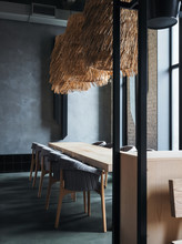 Contemporary Cafe Interior Wit...