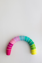 Paper Cup Rainbow
