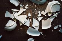 Shards Of Broken Crockery Cera...
