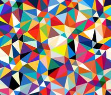 Abstract Geometric Seamless Pa...