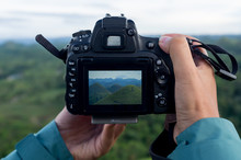Taking Pictures Of The Chocolate Hills